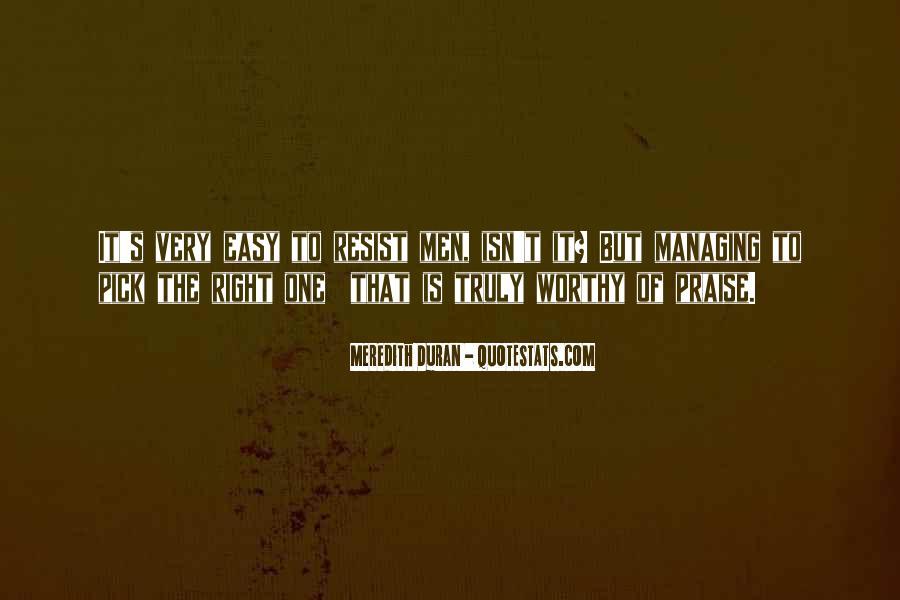 Duran's Quotes #1063908