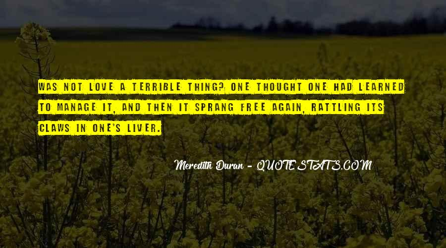 Duran's Quotes #1170973