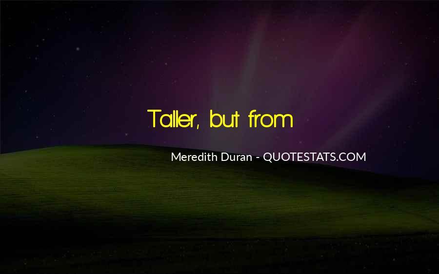 Duran's Quotes #156737