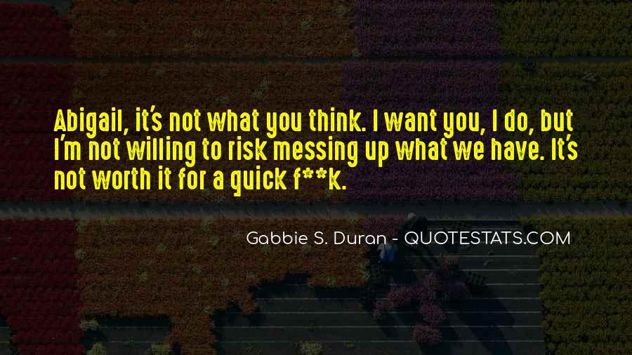 Duran's Quotes #1692635