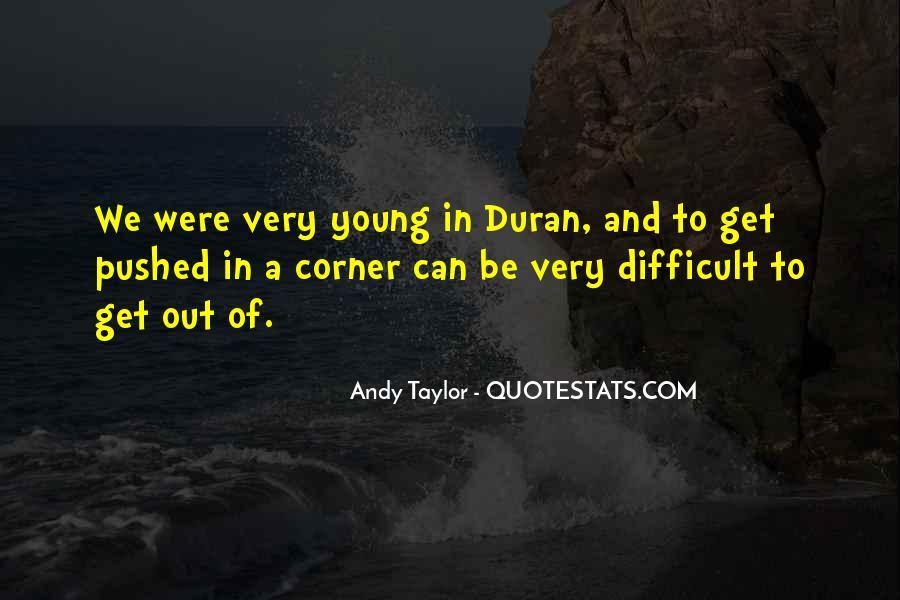 Duran's Quotes #393653