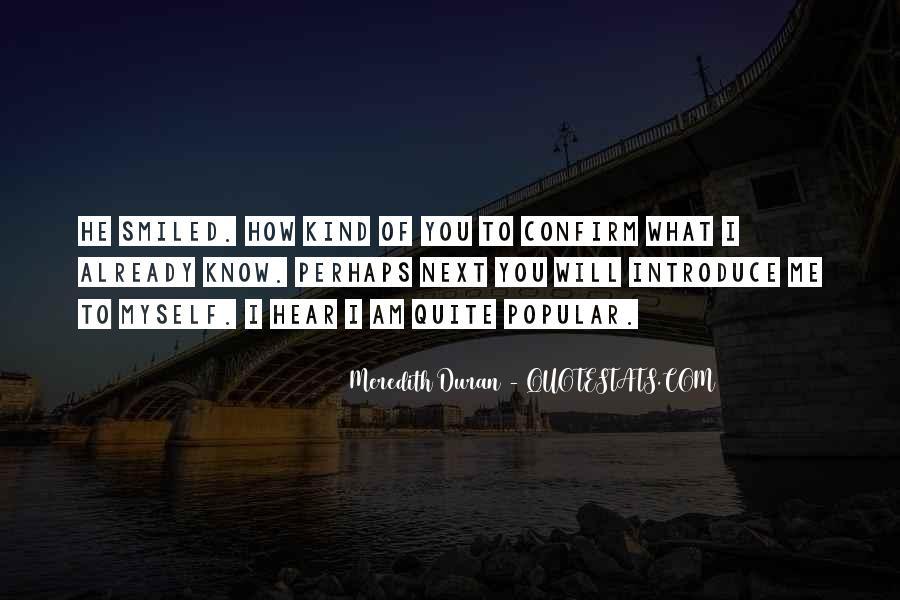 Duran's Quotes #522938
