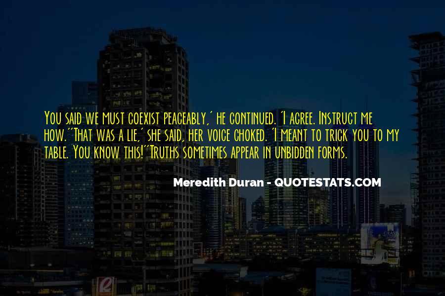 Duran's Quotes #672503