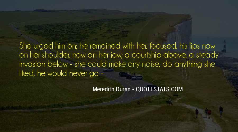 Duran's Quotes #714893