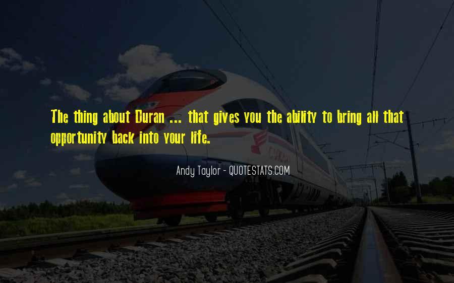 Duran's Quotes #757989