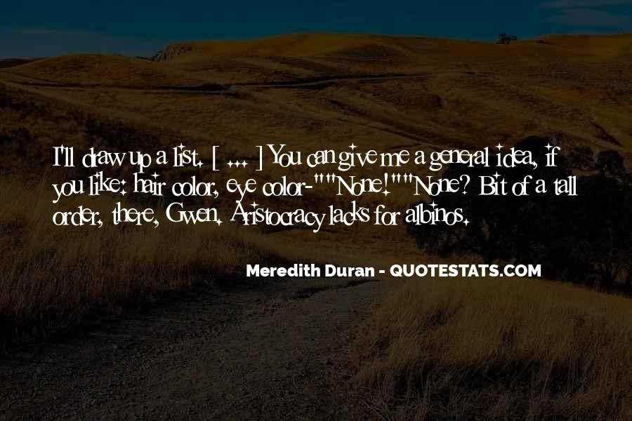 Duran's Quotes #81432