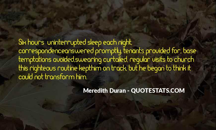 Duran's Quotes #836881