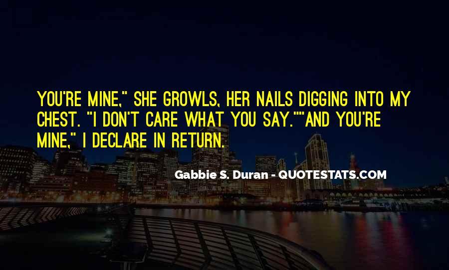 Duran's Quotes #891857