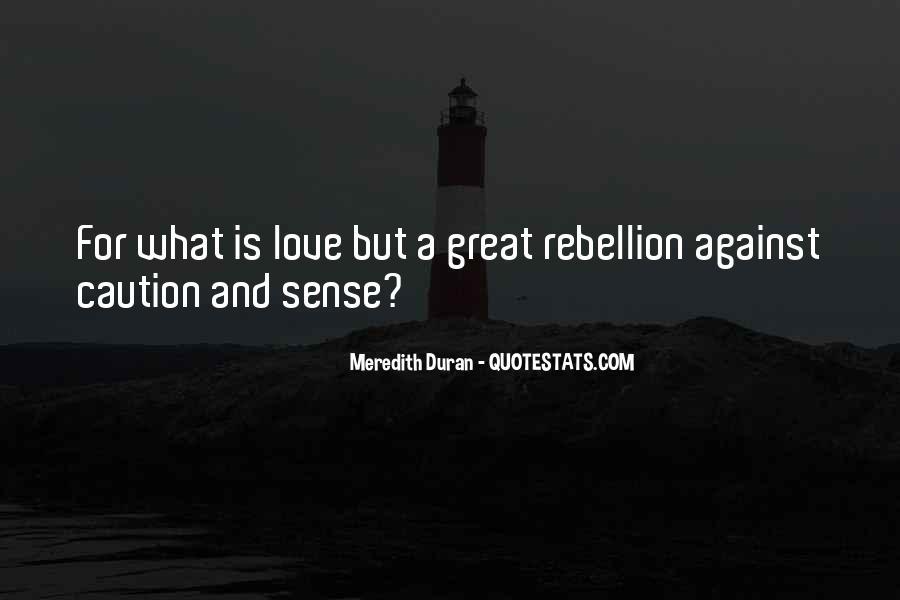 Duran's Quotes #956526