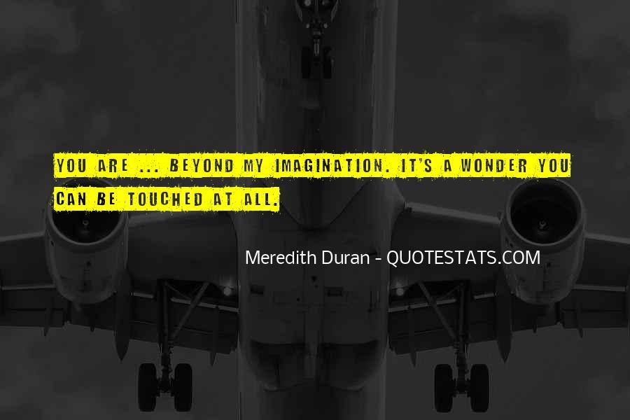 Duran's Quotes #961381