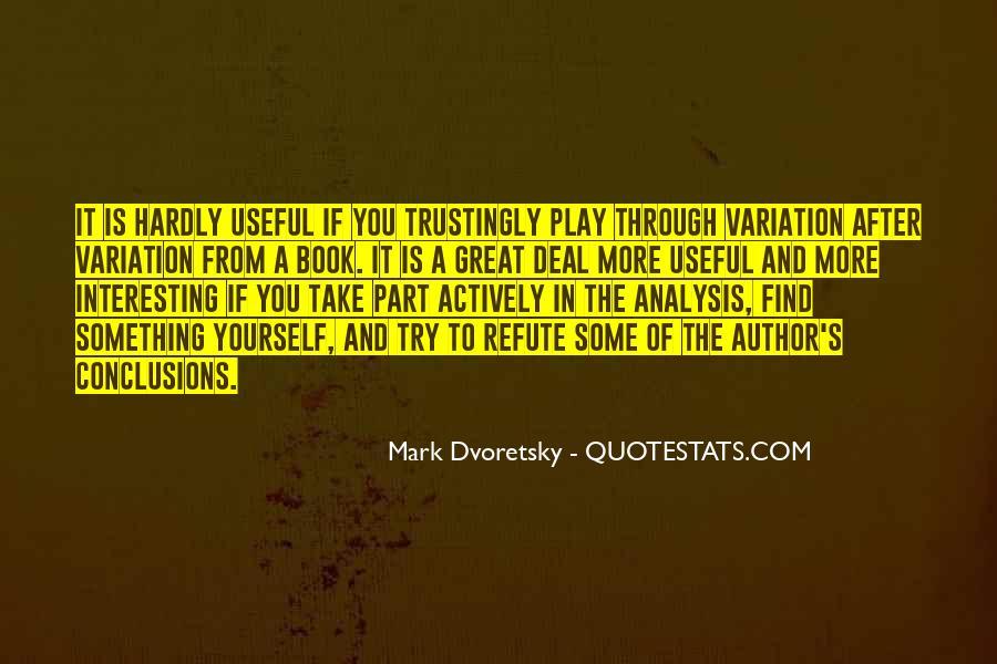 Dvoretsky's Quotes #863853