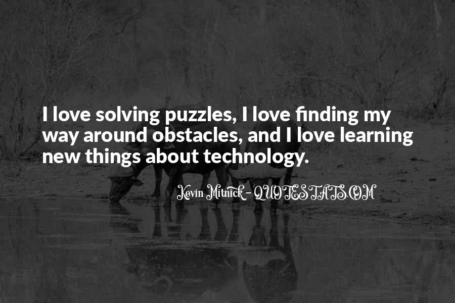 Quotes About Puzzles And Love #1771606