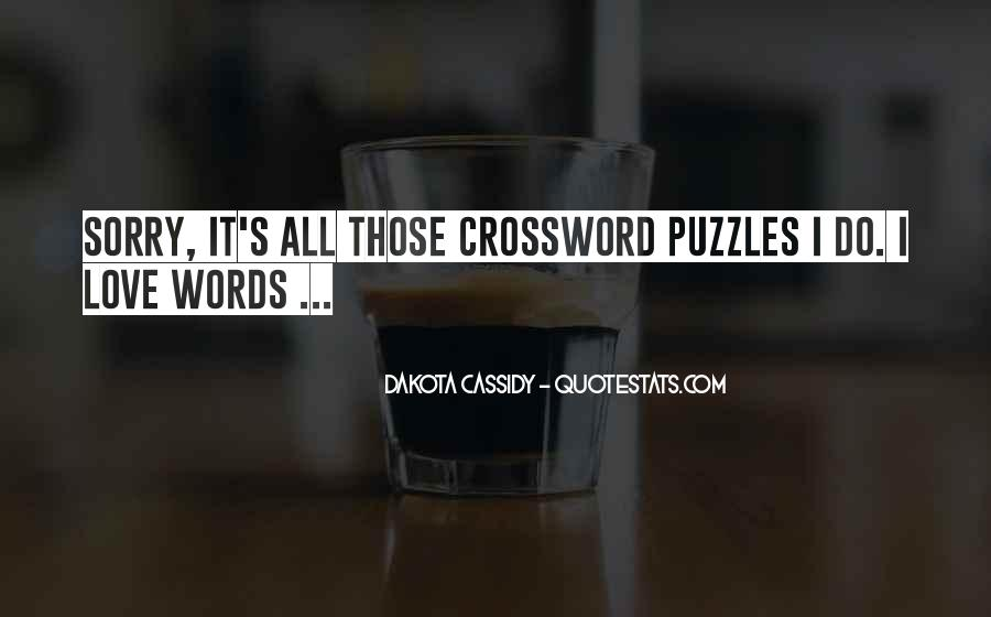 Quotes About Puzzles And Love #400152