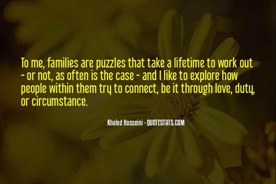Quotes About Puzzles And Love #480247