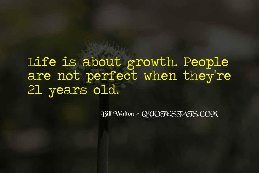Quotes About Not Perfect Life #178915