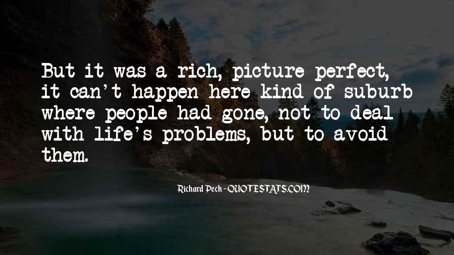 Quotes About Not Perfect Life #289420