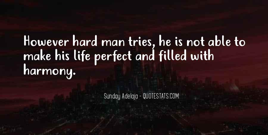 Quotes About Not Perfect Life #355842