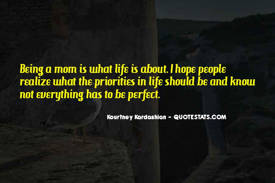 Quotes About Not Perfect Life #749211