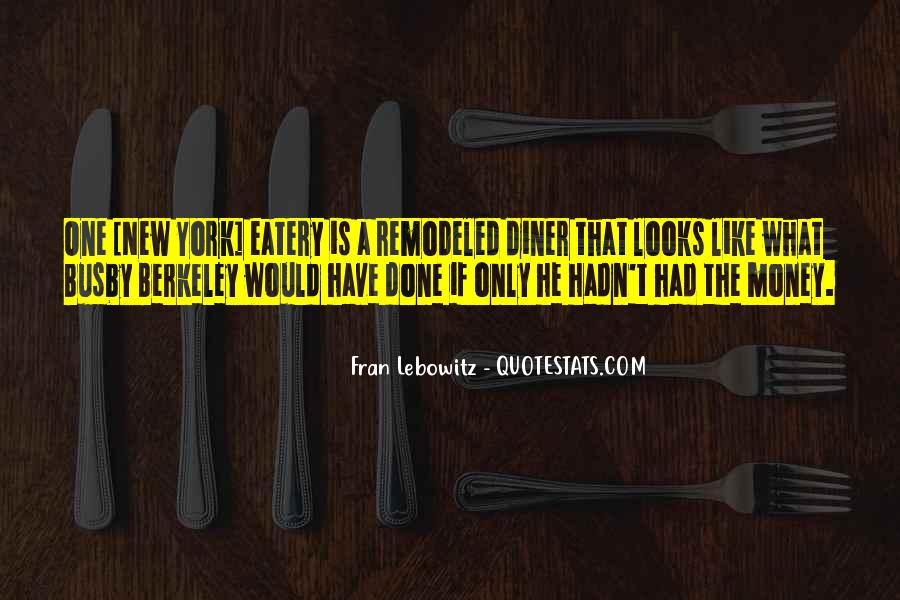Eatery Quotes #1036836