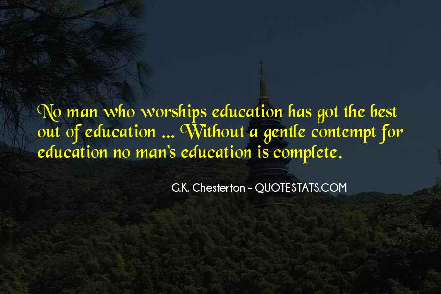 Education's Quotes #3852