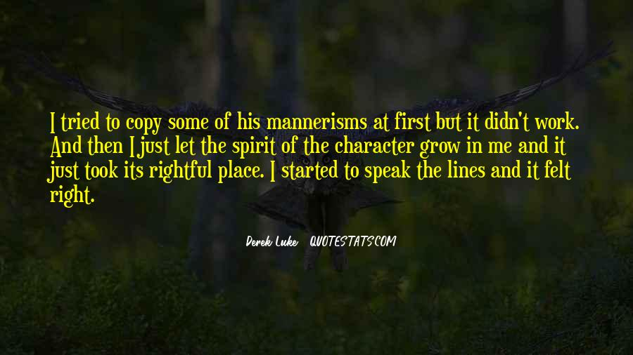 Quotes About The Place You Grow Up #133307