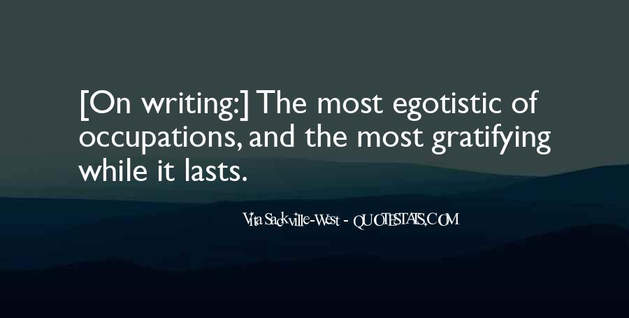 Egotistic Quotes #1060727