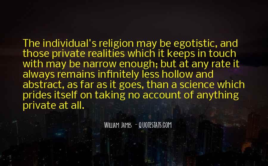 Egotistic Quotes #1312616