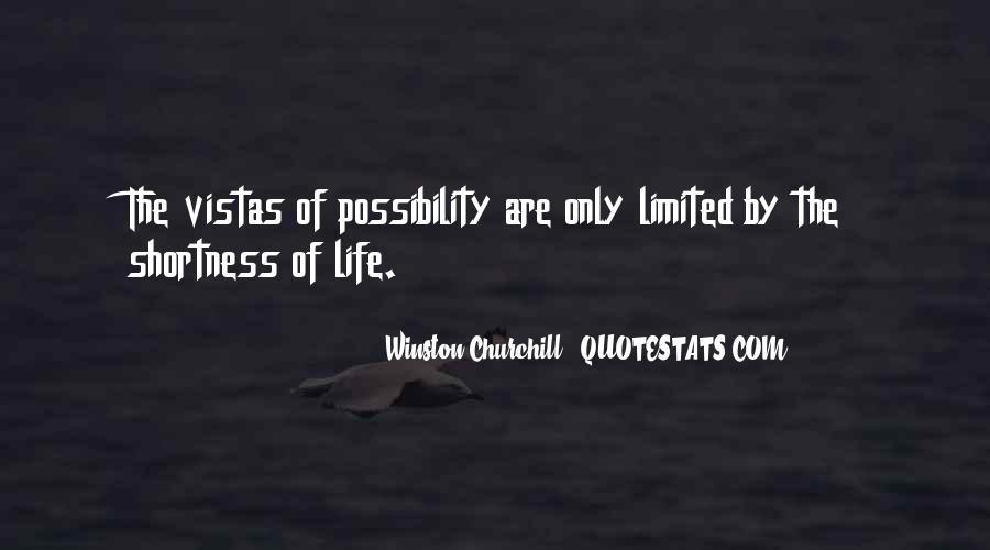 Quotes About Vistas #1780870