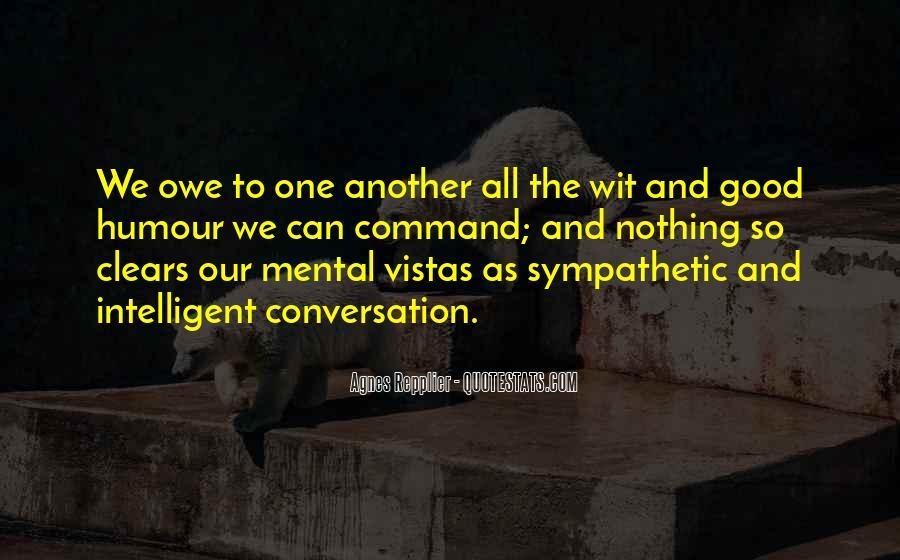 Quotes About Vistas #200095