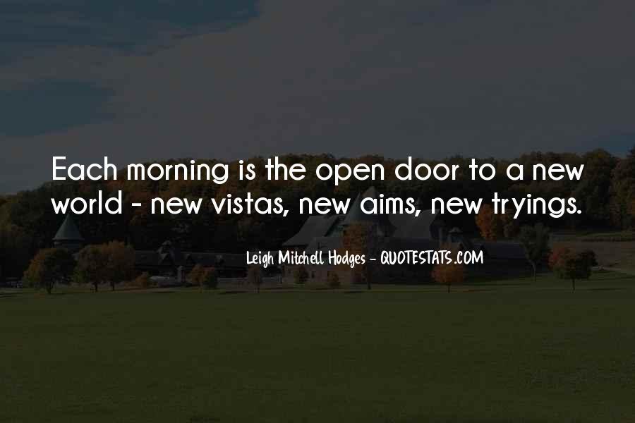 Quotes About Vistas #359748