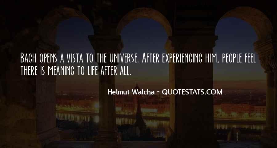Quotes About Vistas #767782