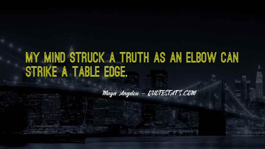 Elbow'd Quotes #110941