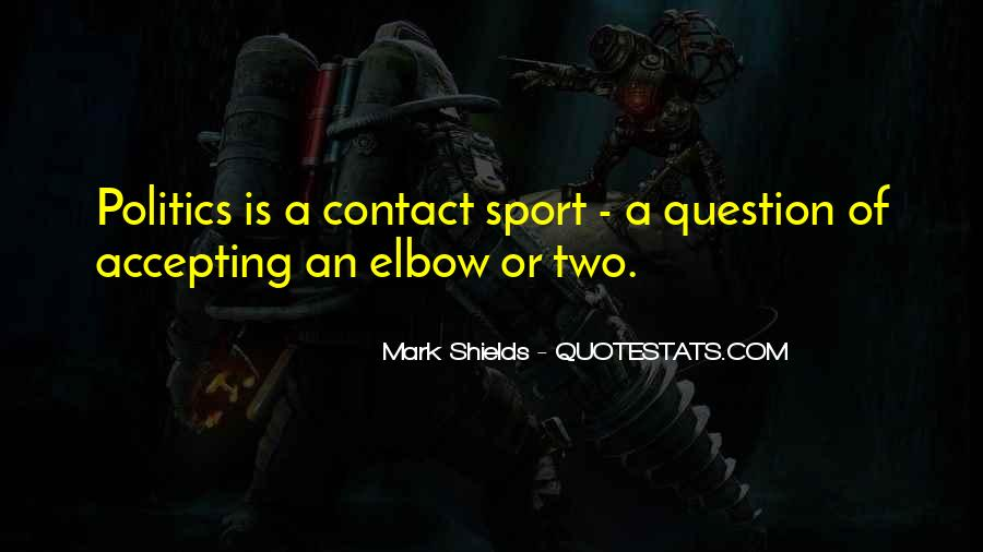 Elbow'd Quotes #512829