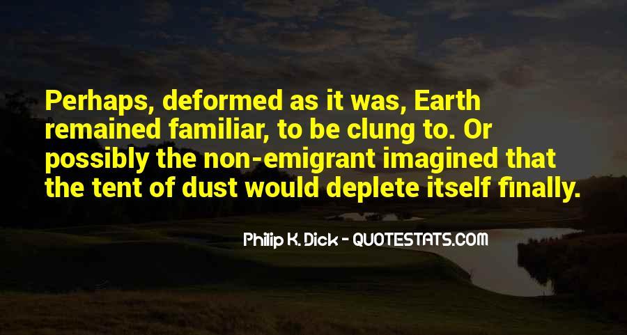 Emigrant's Quotes #1669978