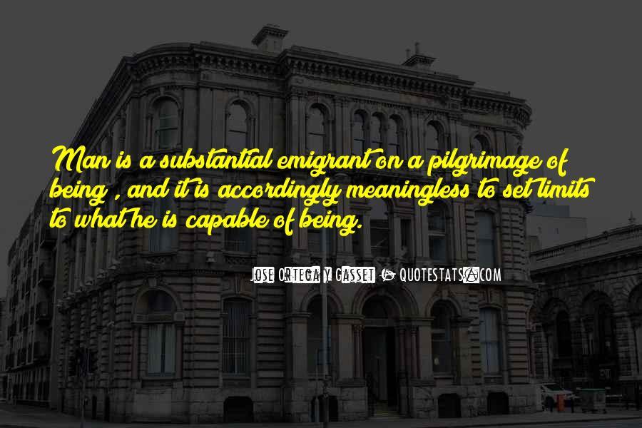 Emigrant's Quotes #26568