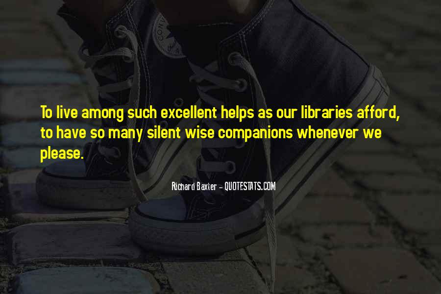 Quotes About Libraries And Art #129546