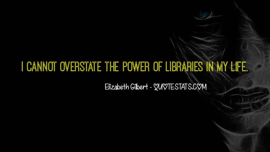 Quotes About Libraries And Art #161586