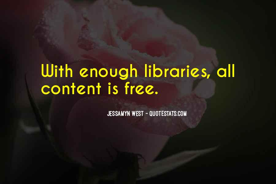Quotes About Libraries And Art #181544