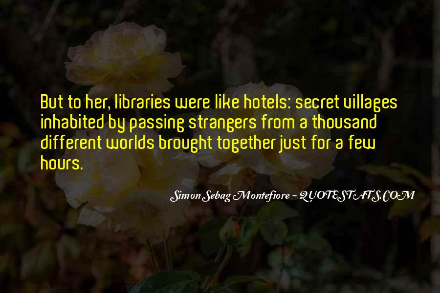 Quotes About Libraries And Art #195004