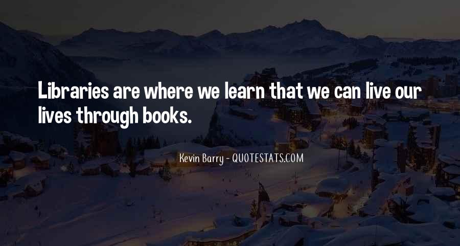 Quotes About Libraries And Art #269935