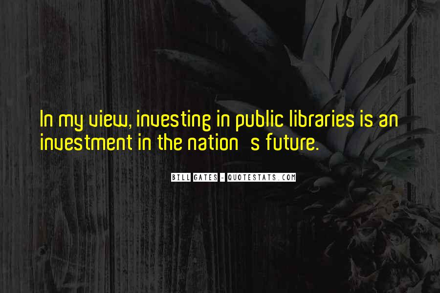Quotes About Libraries And Art #31224