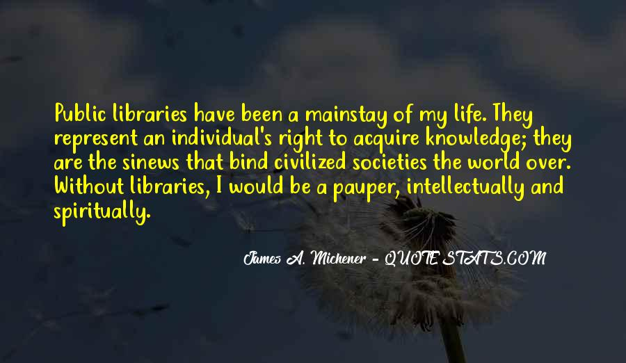 Quotes About Libraries And Art #81786