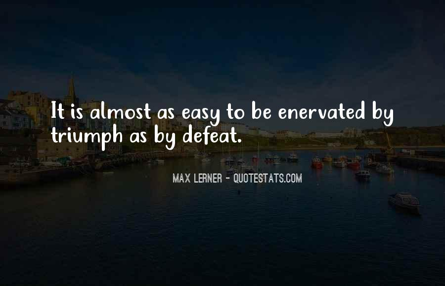 Enervated Quotes #773540