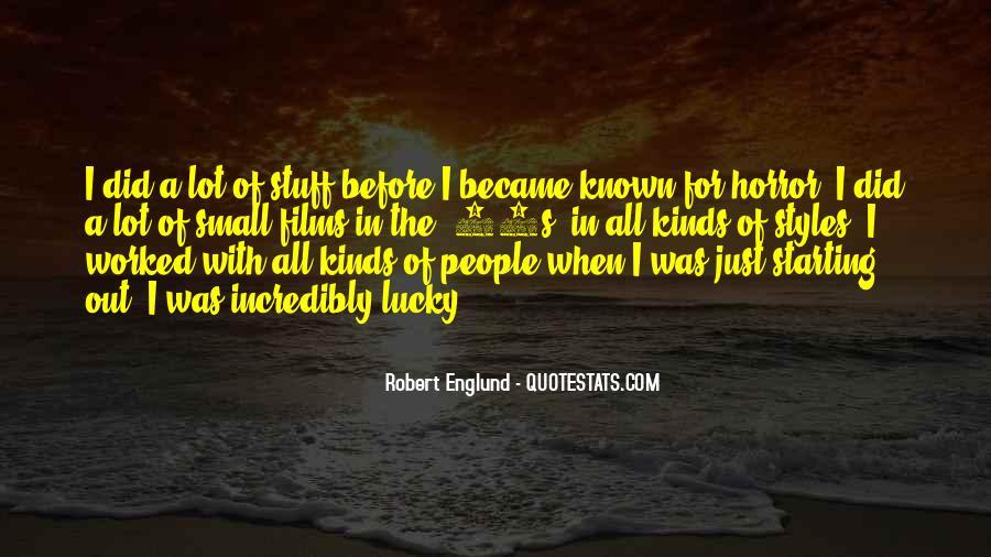 Englund Quotes #383868