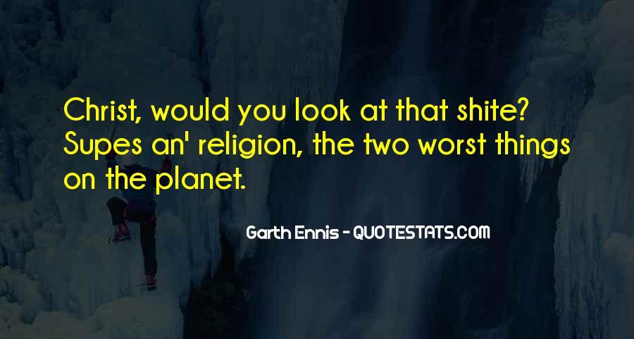 Ennis's Quotes #1052032