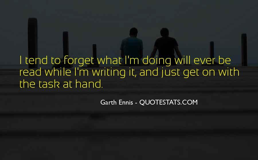 Ennis's Quotes #1358464