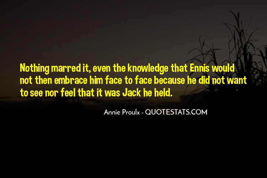 Ennis's Quotes #1502552