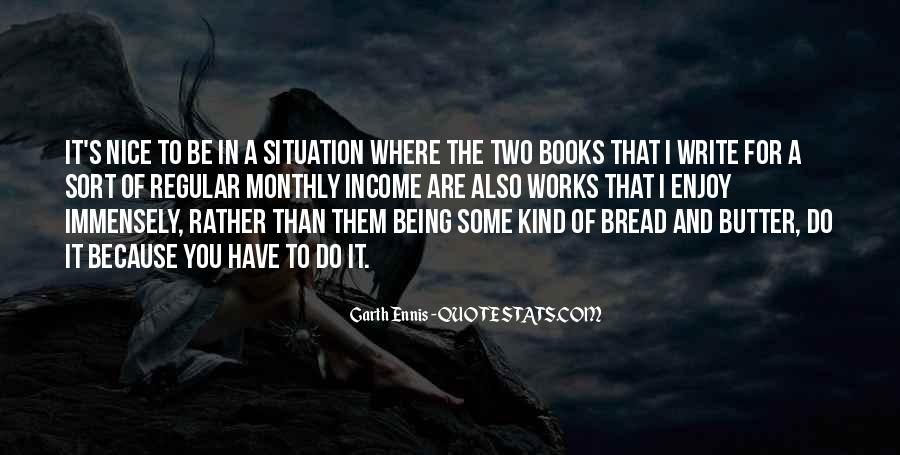 Ennis's Quotes #1739733