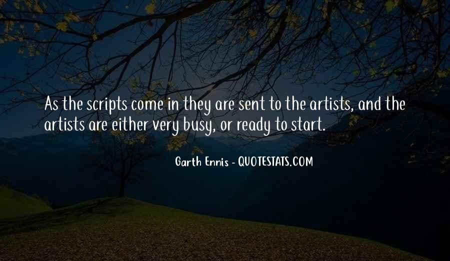 Ennis's Quotes #596045