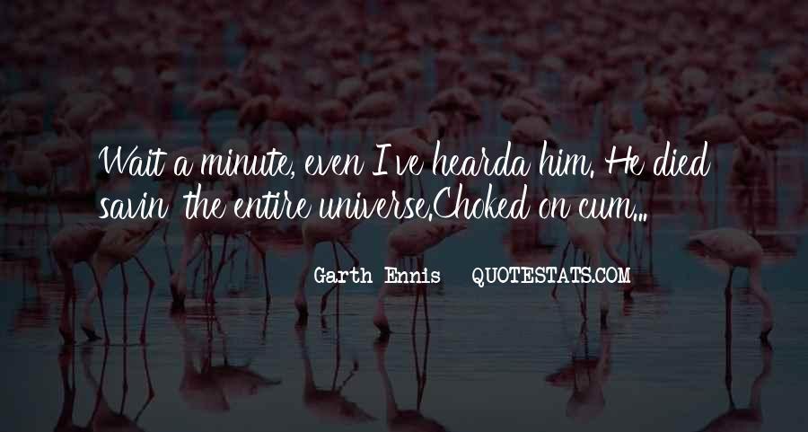 Ennis's Quotes #631569